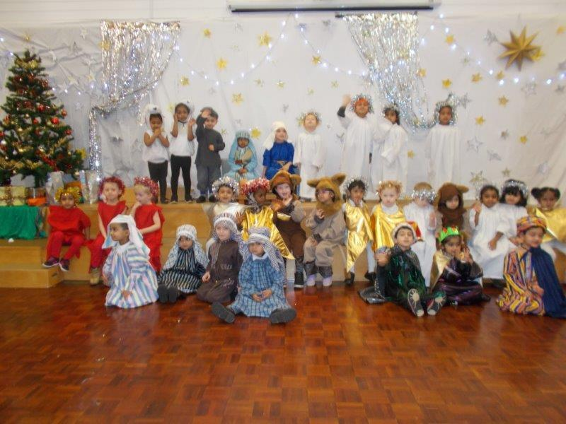 The children loved performing in the nativities