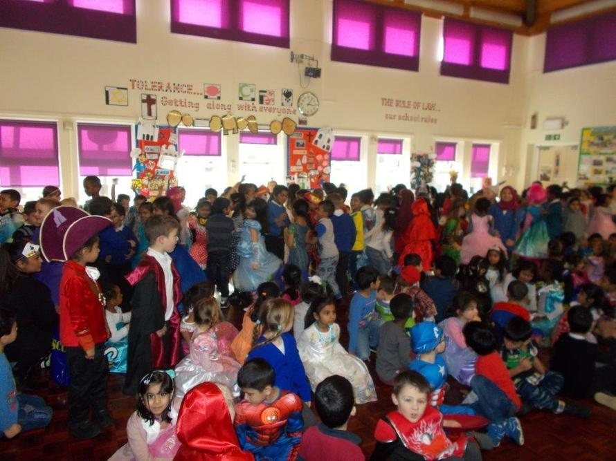 Look at our wonderful World Book day costumes