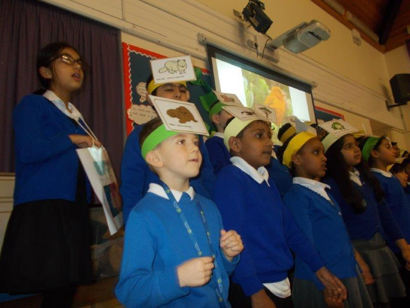 Bumblebee class talked about the British Value of Liberty and making the right choices.