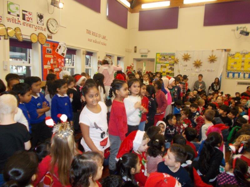 We had a Christmas jumper day to raise money for Save the Children.
