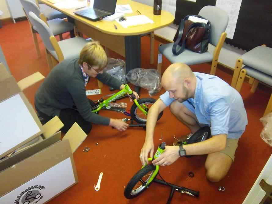 Our Balanceabilty bikes have arrived.