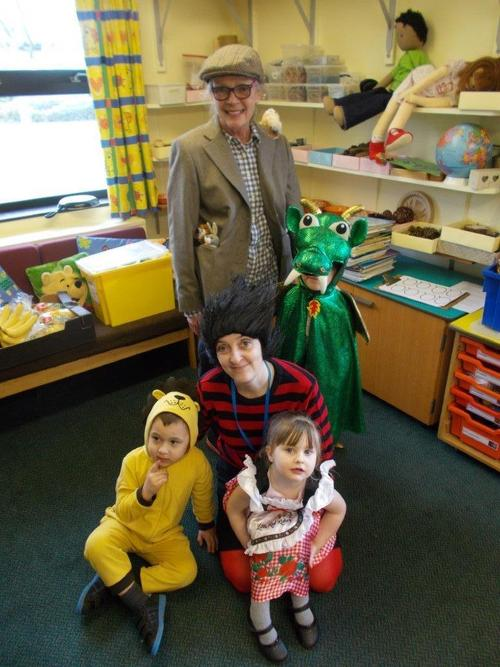 Everyone took part in World Book day.