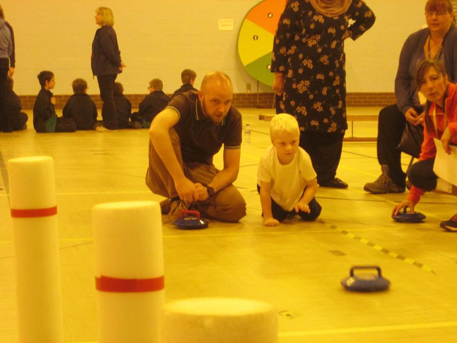 Kurling competition May 2016.