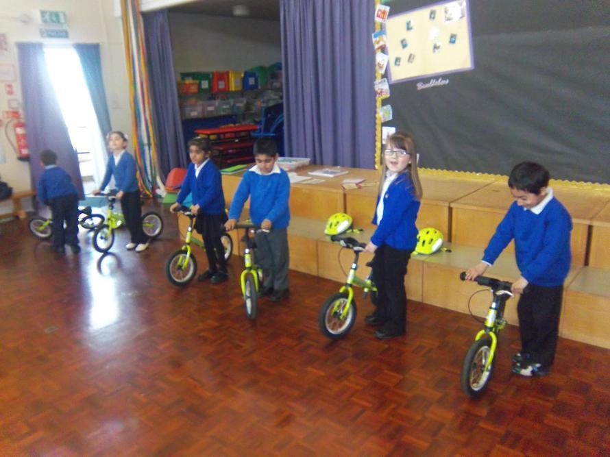 Our children love their bike- ability classes.