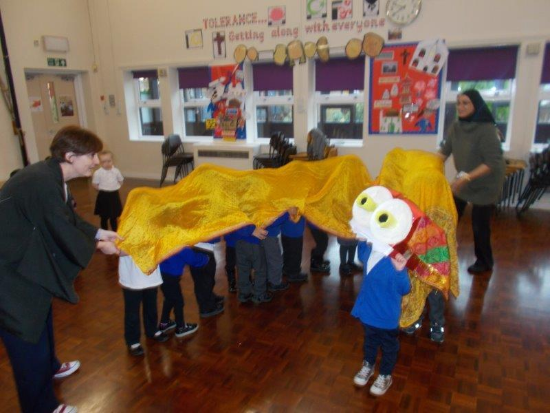 Our Nursery celebrated Chinese New Year.