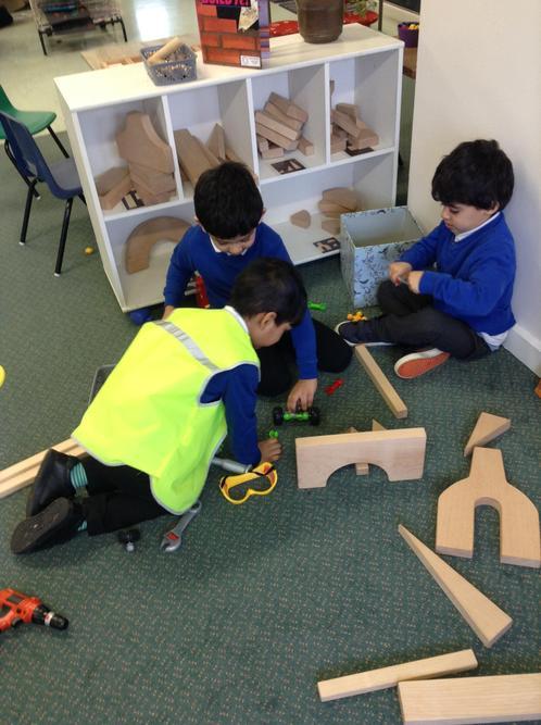 Working together to build interesting models.