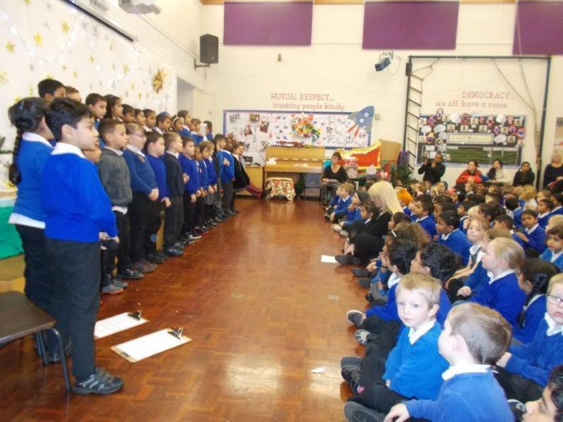 Bumblebee class told the school about the importance of making the right choic