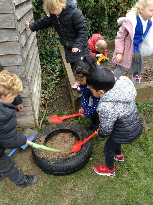 Team work and lovely sharing!