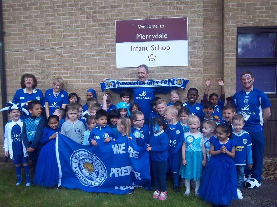 We are backing the blues ' Come On Leicester City