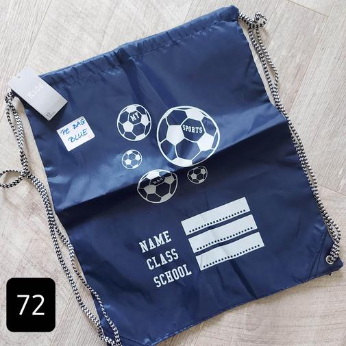(#72) PE kit bag (navy)