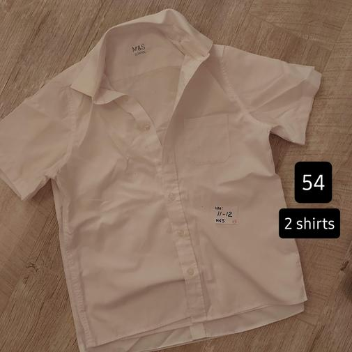 (#54) 11-12yrs (M&S) 2-pack