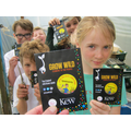 Grow Wild seed kits from Kew Gardens