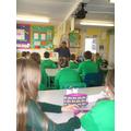 ~Anthony Lishak visits class 6