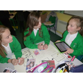 Writing and illustrating our POP UP books