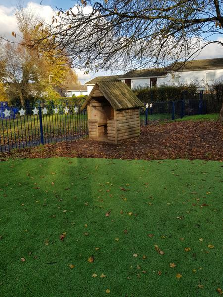 Year 1 outside area - Playhouse