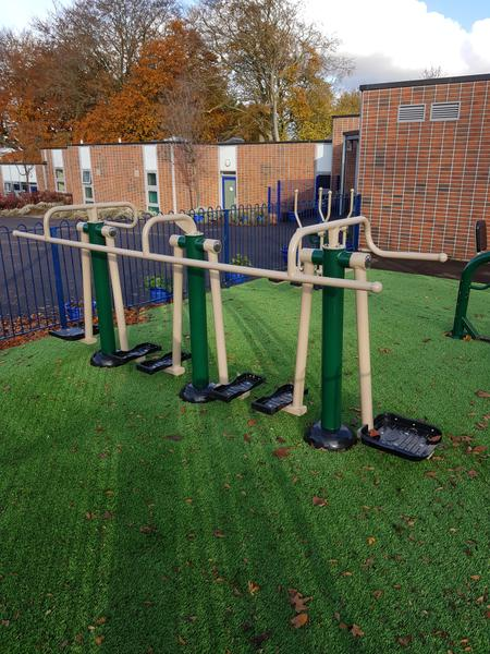 Year 2 outside area - Exercise Equipment