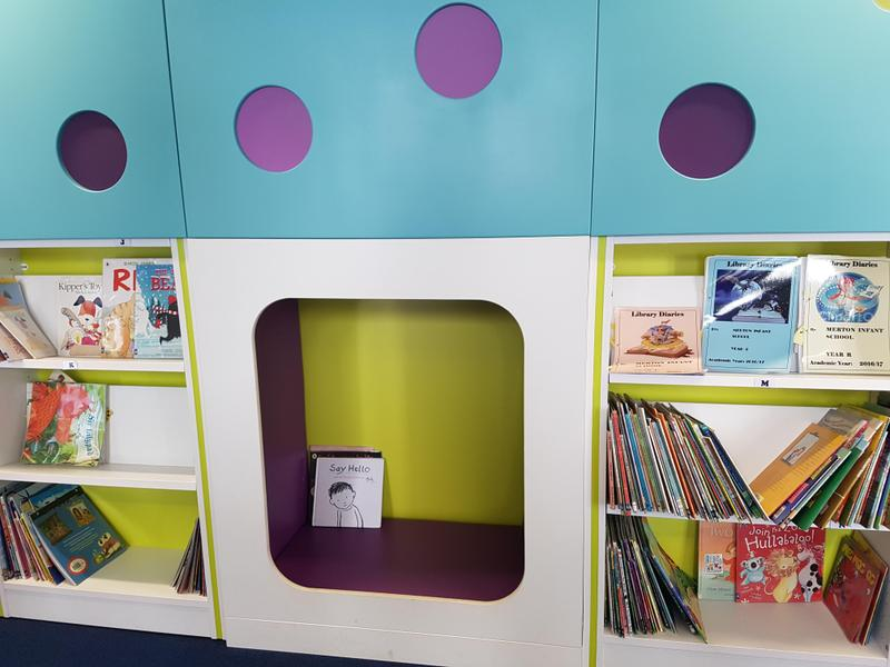 The school library 'nook'