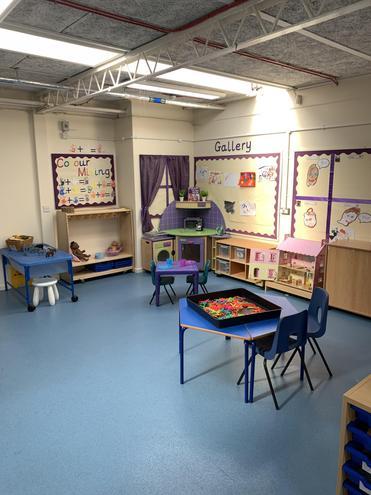 Purple Nursery- Creative Area