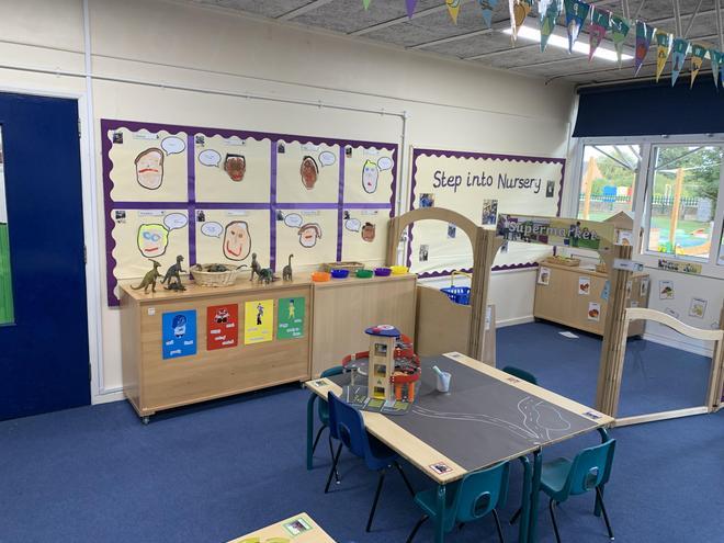 Purple Nursery - Construction/Role Play Area.