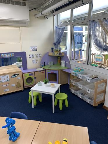Yellow Nursery - Home Corner
