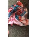 Chloe H has been doing some tie dye