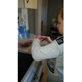 Making cakes!