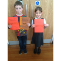 Winner and runner up - Dylan and Darcie