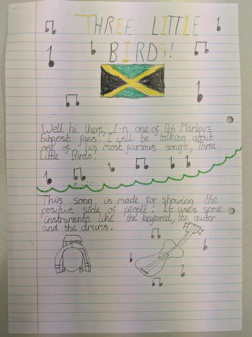 Caitlin's music journal