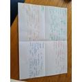 Look at this fantastic journaling looking at seasons