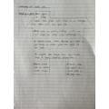 English - calligram poem