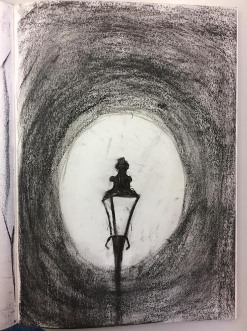 Abdulrahman's charcoal lamp