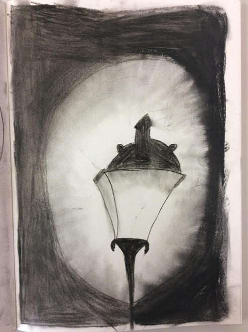 Caitlin's charcoal lamp