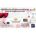 Free Valentines & Half Term Family Crafts