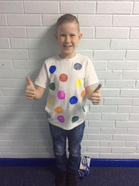 Thumbs up for Children In Need!
