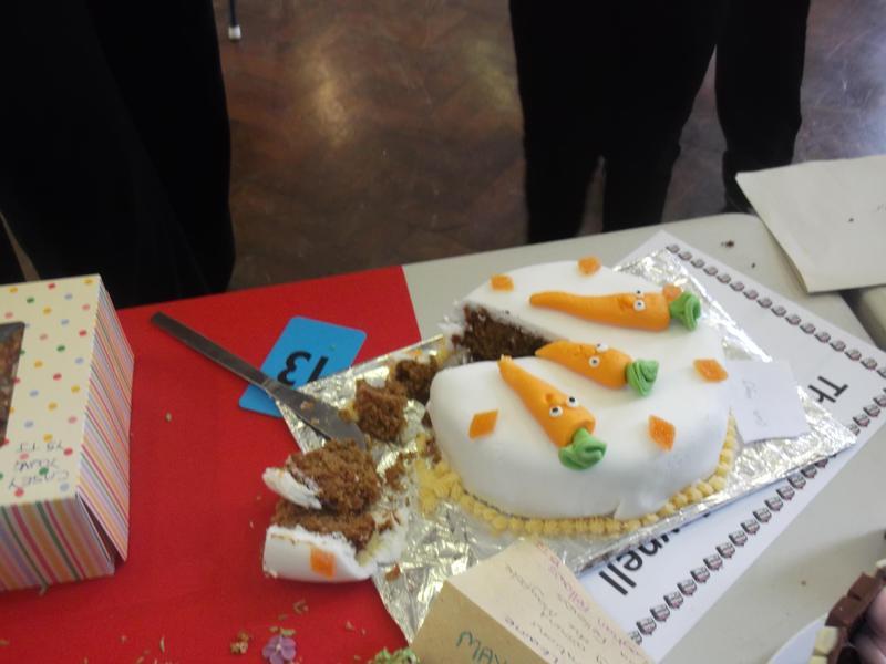 I do love a carrot cake.