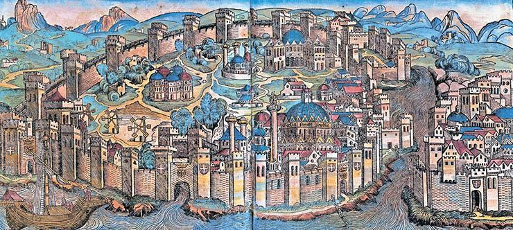 On this day in 330 AD, Constantinople become the capital city of the Roman Empire. It seems like a long time since we studied the Romans doesn't it?