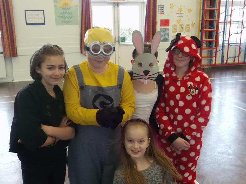 We love to dress up and be our favourite character