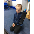 We predict the sock wont be waterproof and that it will get very soggy!