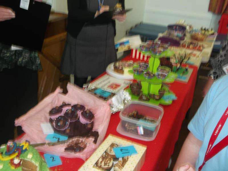 We had so many beautiful and delicious cakes!