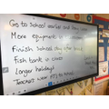 We asked our constituents what they would like to change about school.