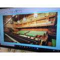 We wanted to re-create the House of Commons