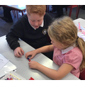 Investigating magnets and forces.