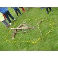 Andy Goldsworthy Sculpture Trailblazer Day!