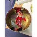 The Elf ate all our biscuits!