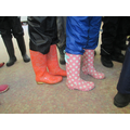 wellies were essential!