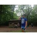 Exploring the campsite