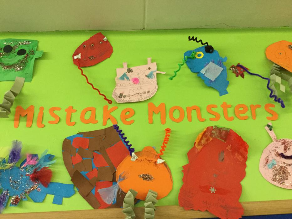 Year 2 children know it's okay to make mistakes!