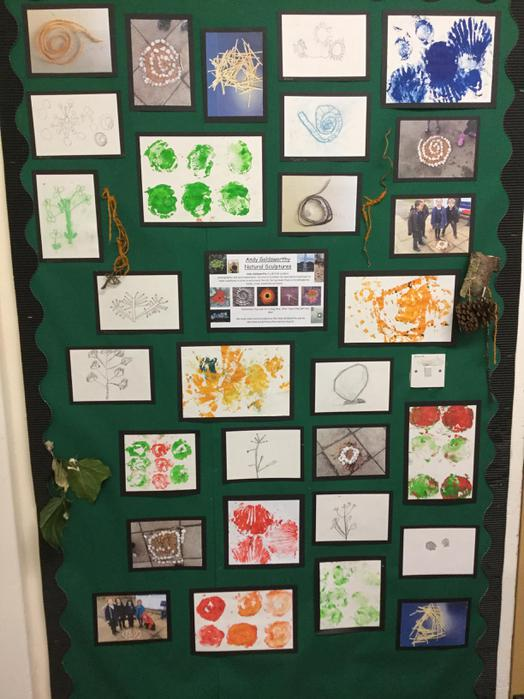 Art Week - Inspired by Andy Goldsworthy