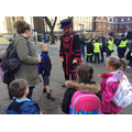 The Yeoman of the Guard -we had lots of questions!