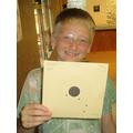 Kyle got a bullseye!